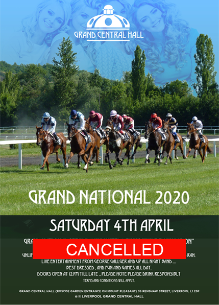 The Grand National at The Grand central Hall Liverpool