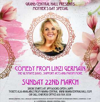 SUNDAY 22ND MARCH - MOTHERS DAY SPECIAL
