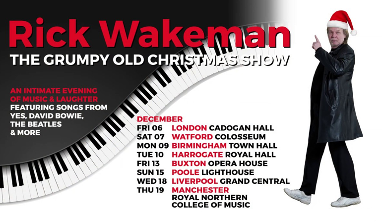 Rick Wakeman Music's The Grumpy Old Christmas Show
